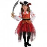 RUBIES Costum fetita pirat