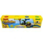 PLASTELINO Plastelino – Pasta de modelat Starter (4 culori)
