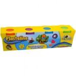 PLASTELINO Plastelino – Pasta de modelat Tutti Frutti (4 culori)