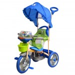 DHS Baby TRICICLETA DHS MERRY RIDE 107A-2-Albastru