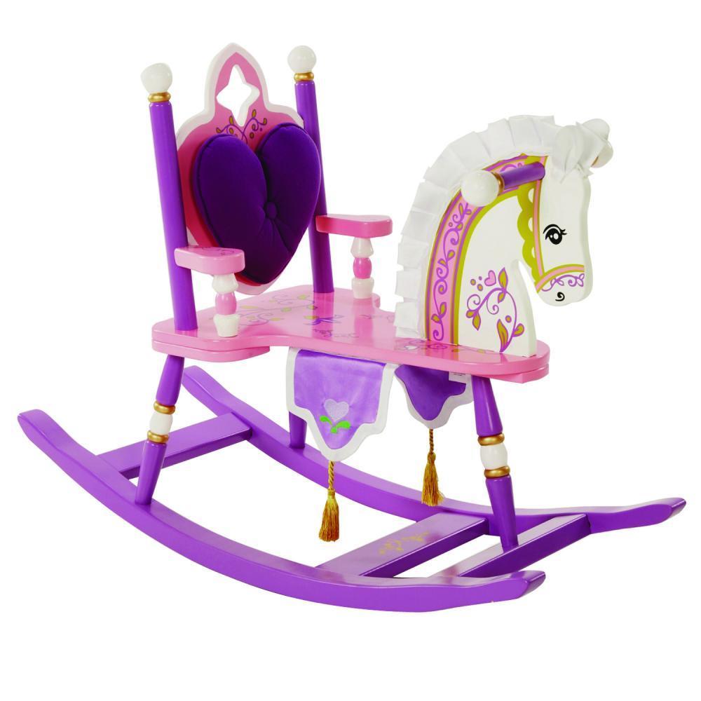 Balansoar calut Kiddie Ups Princess